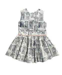 Girls Ltd Ed Window Print Dress_ _36 - Mamas _amp_ Papas