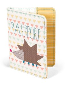 Patternology Passport Cover Hedgehog_ _6_95 - Mama _amp_ Papas